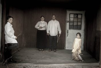 Frightening Family Photos: Sugar Ink Dabbles in the Dark Arts
