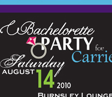 Carrie's Bachelorette Party