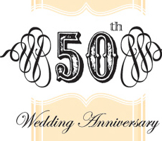 The Clay's 50th Wedding Anniversary