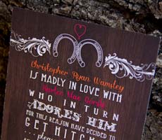 Chris and Kartee Wedding Invitation Set
