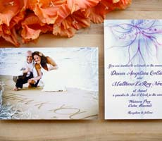 Dawn and Matt Wedding Invitation Set